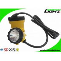 Buy cheap 3W Cree LED Mining Hard Hat Lights 25000Lux Four Lighting Levels With Low Power from wholesalers