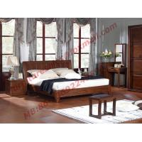 Quality Antique Solid Wood Bed in Wooden Bedroom Furniture sets wholesale