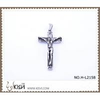 Quality Hot sell 316 Stainless Steel Cross & Christ  Pendant H-L2158 wholesale