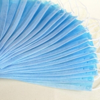 Quality Breathable Non Woven Anti Smog Earloop 3 Ply Face Mask wholesale