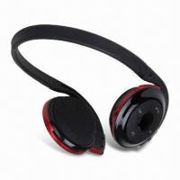 Quality Small Exquisite Sports Bluetooth Stereo Headphones with USB Connector, for PC and Mobile Phones wholesale