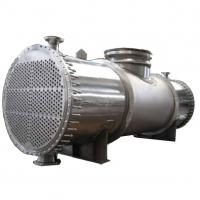 Quality Evaporative Industrial Shell And Tube Heat Exchanger Condenser Spiral Shape wholesale