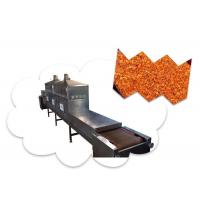 Quality Plc Control Microwave Tunnel Oven , Industrial Food Dehydrator Machine wholesale