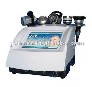 China LED BIO rf vacuum cavitation weight loss machine ultrasound therapy on sale