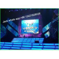 Quality HD P6 Full Color Indoor Stage LED Screen Video Walls 192 * 192mm SMD3528 wholesale