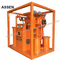 Quality Economic type High vacuum Insulating Oil Purifying System,Portable Transformer Oil Purifier machine wholesale