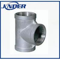 China Stainless steel internal threaded tee on sale