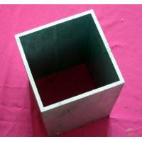Quality Interior Square Aluminium Hollow Tube / Extruded Aluminum Tubing Polished Surface wholesale