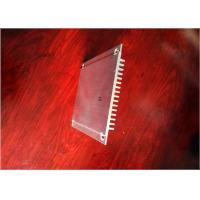Cheap Industry Heat Sink Aluminum Profiles 6063 Silver With 99.7% Aluminum Content for sale