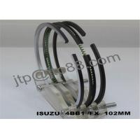 China Engine Spare Parts Motorcycle Piston Ring For Isuzu 4BB1 / 4BC1 /4BD1 on sale