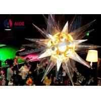 Quality Fashionable Inflatable LED Star Balloon Ceiling Decor WIth Color Changing wholesale