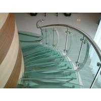 Quality 10mm safety toughened laminated glass for glass stair in customer size wholesale