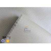 Quality Silver Coated Fabric Fire Resistant 0.2mm 220g Aluminized Fiberglass Cloth wholesale