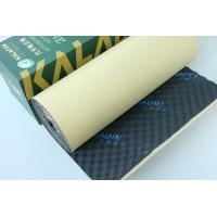 Quality SGS Test Sound Absorbing Foam 50mm Black Waterproof Soundproof Material For KTV wholesale