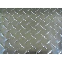 Quality Decorative Aluminium Chequered Plate , h22 Aluminium Checker Plate Flooring  wholesale