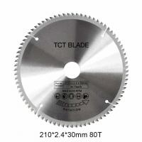 China 6600RPMTCT Circular Saw Blade 80T , Multi Functions Rotation Cutting Tools on sale