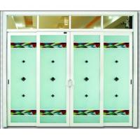 China Sliding Aluminum Door with Glass Panel on sale