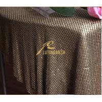 China Flexibility Metal sequin cloth for home decorative on sale
