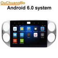 China Ouchuangbo auto dvd stereo androd 6.0 for Volkswagen Tiguan 2013 with SWC 1080P 4*45 Watts amplifier on sale