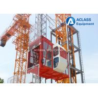 Cheap 4000kg Rack and Pinion Construction Hoist Elevator for Materials / Passengers for sale