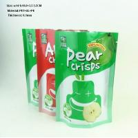 China Pear Crisps colourful stand up pouch for food packaging on sale