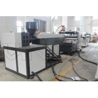 Quality Semi Automatic Plastic Rope Making Machine / Extrusion Line 900 - 1300mm Width wholesale