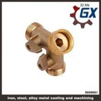 China Cast NPT Full Port Private Label on Handle Brass Three-way Ball Valve on sale