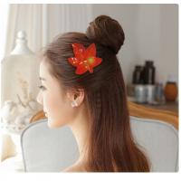Buy cheap Hair Decoration Leather Velcro Hair Bows For Infants / Babies / Little Girls product