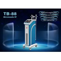 Buy cheap Wrinkle Removal Face Lifting Fractional RF Microneedle Machine 0.5-3mm Adjustable from wholesalers