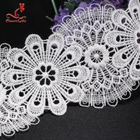 Quality Wholesale Lace Trim Stretch Lace Trim Flat Lace Trim Flower Embroidery wholesale