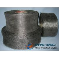 Cheap 105-300 Model Stainless Steel Knittted Wire Mesh With Good Penetrability for sale