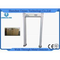 Quality Archway Waterproof Walkthrough Metal Detector Gate With Visual Alarms Indicator wholesale