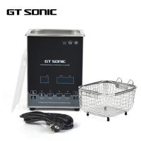 Quality Black Laboratory Ultrasonic Cleaner , Ultrasonic Glasses Cleaner 2L wholesale