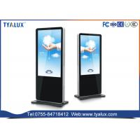 Cheap OEM multitouch android Digital Advertising Displays , Electronic Stand Alone Digital Signage for sale