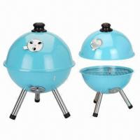 Quality 10-inch BBQ Grills/Apple Kettle BBQ Portable, Available in Various Colors wholesale
