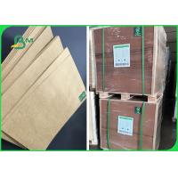 Quality 80g 100g 120g High Stiffness Brown Kraft Paper For Packing Rice 70 * 100cm wholesale