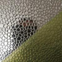 Cheap 0.3 - 1.5mm Thickness Aluminium Embossed Sheet O-H112 For Building / Transportat for sale