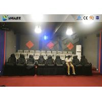 Quality Shooting Game 7d Cinema Theater With Large Screen And Dynamic Seat Control System wholesale