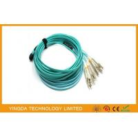 China MPO- 8 LC 3 MTP MPO Cable Patch Cord With QSFP +  SR4 Optical Transceivers on sale