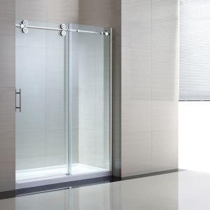 China Tempered Sliding Glass Door Shower Enclosure Replacement , 48 Shower Door on sale