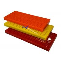 Quality OEM Polyurethane Screen Panels Customize Dewatering Modular Derable Vibration wholesale