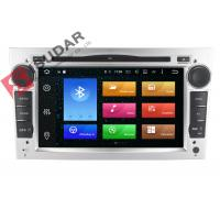 Cheap Silver Panel Opel Corsa Dvd Player , Android Bluetooth Car Stereo With Google Maps for sale