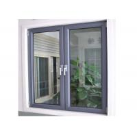 China Powder Coated Finish Non Thermal Break Aluminum Profile Window And Door on sale