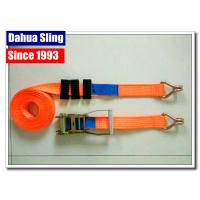 Quality Truck Trailer Ratchet Strap Parts Heavy Duty Lashing Straps With Two Parts wholesale