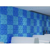 Cheap Hotel Hallways Decorative Interior / Exterior 3D  Wall Panels for Entertainment Wall Decals for sale