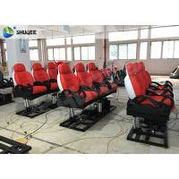 Quality Red Luxury 3DOF 5 D Movie Theater With Left Right Front Back Movement For Amusement wholesale