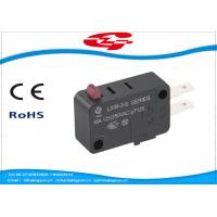 Quality SPDT 3 Terminals Electrical Rocker Switches , Mini Push Button Switch LXW-3 Series wholesale
