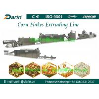 Quality Corn Flakes Breakfast Snack Production Line equiped with Packing Machine wholesale