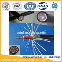 Quality LV 2X6AWG PVC Insulated Aluminum Service Drop Concentric Cable wholesale