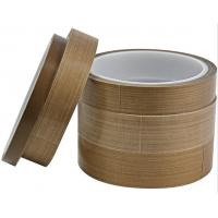 Quality Reuse Teflon Coated Fabric No Oil Leakage Brown Color For Food Heating wholesale